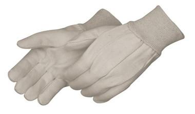 Mens 8oz White Canvas Work Gloves  ##335 ##