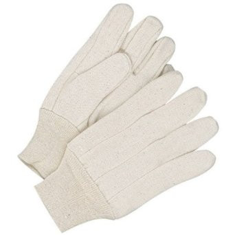 12oz Mens Cotton Canvas Work Gloves  ##338 ##