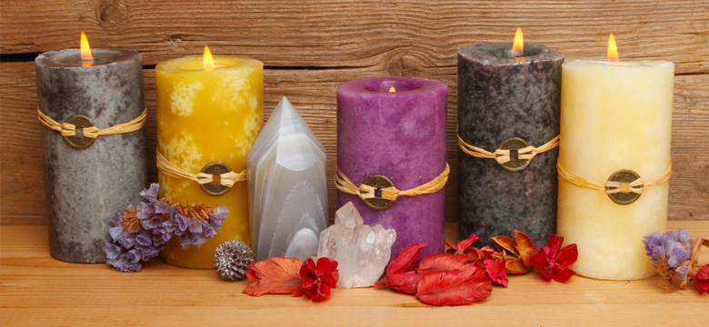 Symbolism of Candle & Crystal Colors