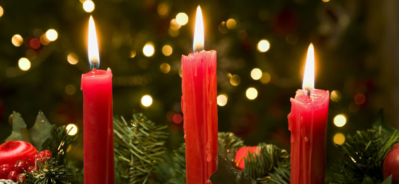 Candles: The Christmas Symbols - Original Products Botanica