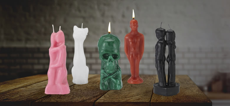 Using Image Candles For Rituals and Spell Work - Original Products