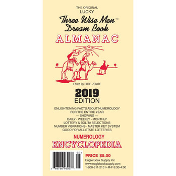 2019 Three Wise Men Dream Book Almanac
