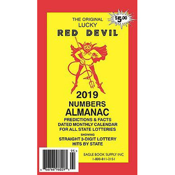 2019 Lucky Red Devil Numbers Almanac