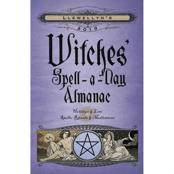 2019 Witches Spell A Day Almanac by Llewellyn