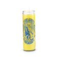 Saint Lazarus 7 Day Saint Candle Yellow