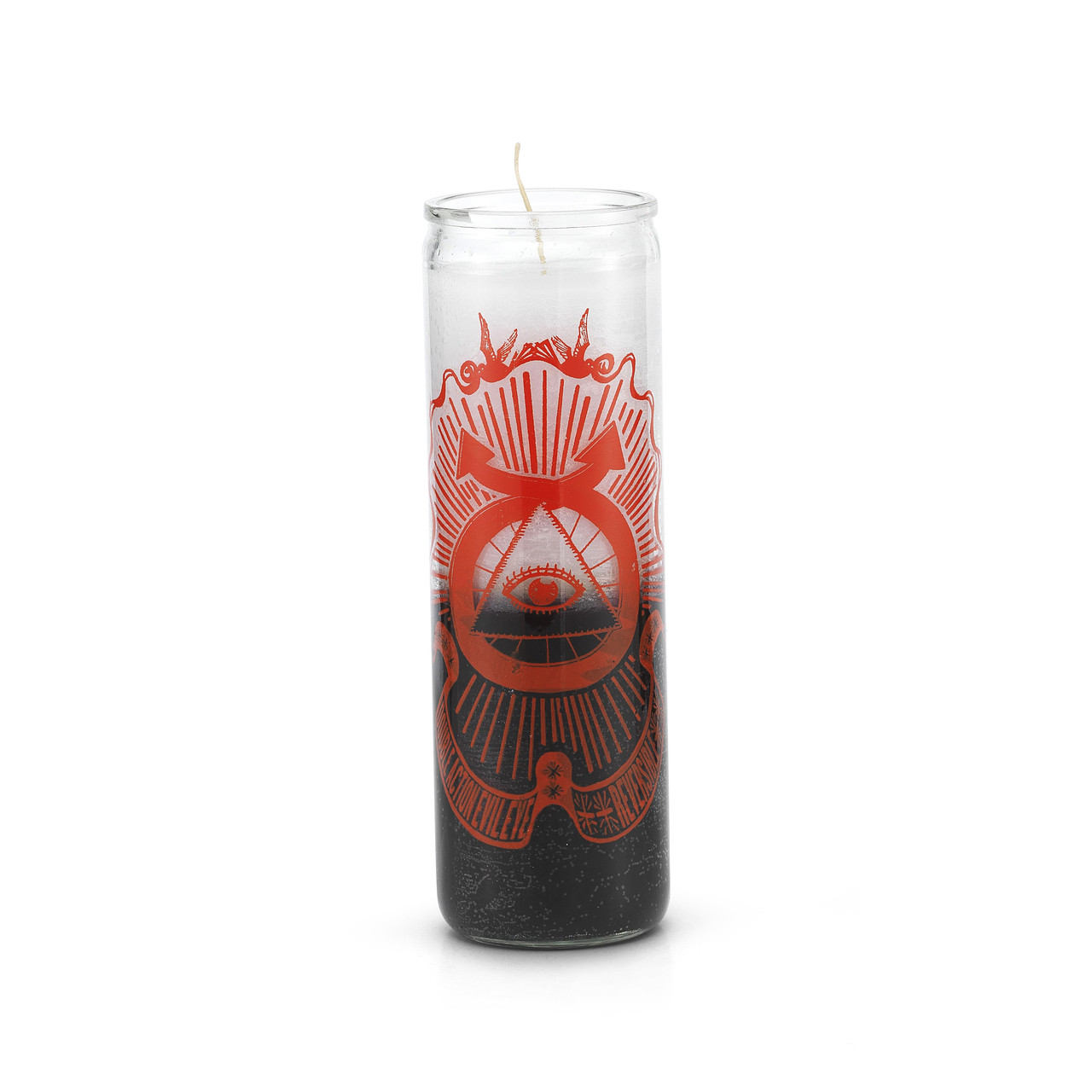 Double Action Evil Eye Multicolor 7 Day Prayer Candle