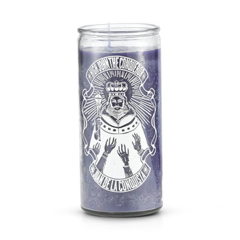 High John the Conqueror Candle 14 Day Purple