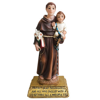 Saint Anthony Car Statue