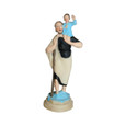 Saint Christopher Magnetic Car Statue