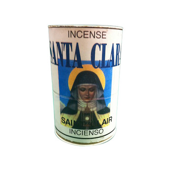 Saint Clara Incense Powder