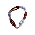 Babalu Aye Triple Beaded Bracelet