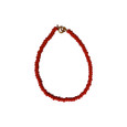 Red Single Beaded Bracelet