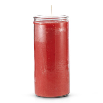 14 Day Plain Red Candle