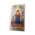 Nino Atocha Laminated Prayer Card