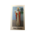 Saint Barbara Laminated Prayer Card