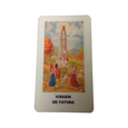 Virgin Fatima Laminated Prayer Card