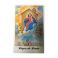 Virgin Loretto Laminated Prayer Card