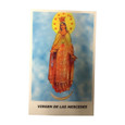 Virgin Mercedes Laminated Prayer Card