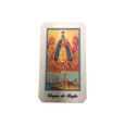 Virgin Regla Laminated Prayer Card
