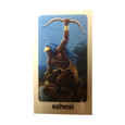Orisha Ochosi Laminated Prayer Card