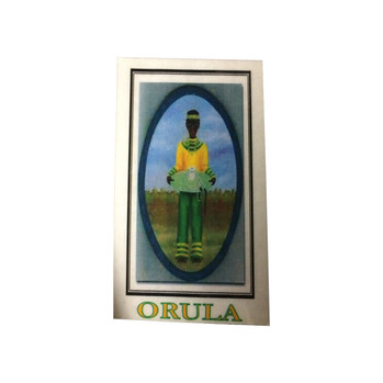 Orisha Orula Laminated Prayer Card