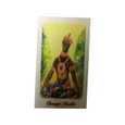 Orisha Shango Laminated Prayer Card