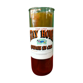 Stay Home Custom Big Al Candle