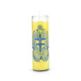 Cross of Caravaca 7 Day 1 Color Prayer Candle