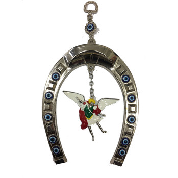 Saint Michael Evil Eye Horseshoe