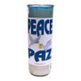 Peace Custom Big Al Candle
