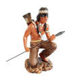 Indian Warrior Statue 12""