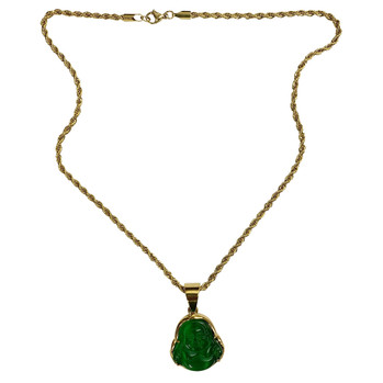 Buddha Gold Necklace