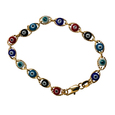 Multicolor Evil Eye Bracelet for Baby