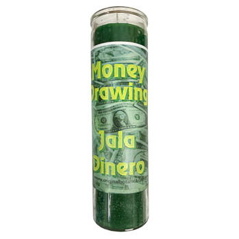 Money Drawing 7 Day Prayer Candle
