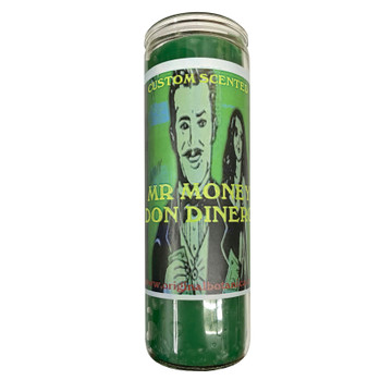 Mr. Money/Don Dinero Custom Scented Candle