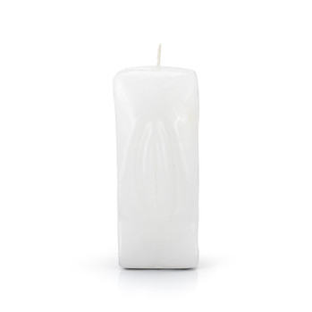 Female Gender Candle White