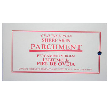 Virgin Sheepskin Parchment Paper