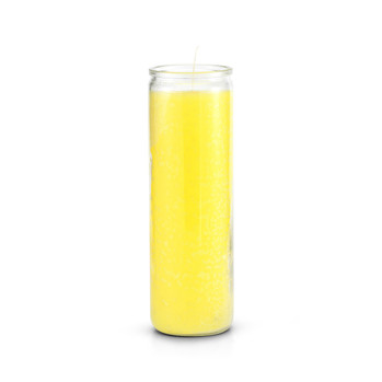 7 Day Plain Candle Yellow