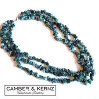 Three Strand Emerald Collar