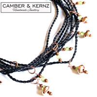 Peridot & Copper Necklace