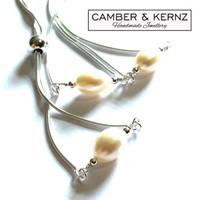 SOLD - .925 Sterling Silver Adjustable Sliding Single Pearl Bracelet