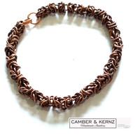 SOLD - Byzantium Design Chainmaile 5mm link Bracelet
