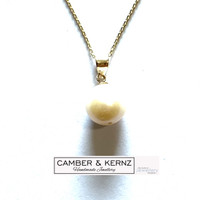 9mm Round White Pearl 9ct Gold Pendant
