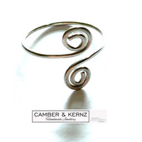 .925 Sterling Silver Adjustable Ring - Med to XL