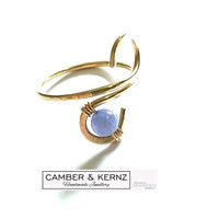 Gold Filled Tanzanite Adjustable Ring Med to XL