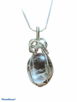 SOLD - Brazilian Clear Quartz & Sterling Silver Necklace