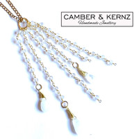 Moonstone Gold Plated .925 integrated Necklace