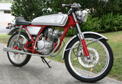 1962 Tribute Honda Dream 50 Racer