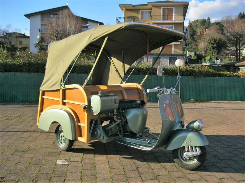 1953 piaggio ape calessino piaggioape vespa. Black Bedroom Furniture Sets. Home Design Ideas