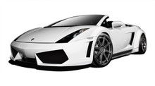 2004 Lamborghini Gallardo  Kit-2004-2008 Lamborghini Gallardo AF-1 Wide Body Kit ( GFK ) - 9 Piece - Includes AF-1 Wide Body Front Bumper Cover (10960